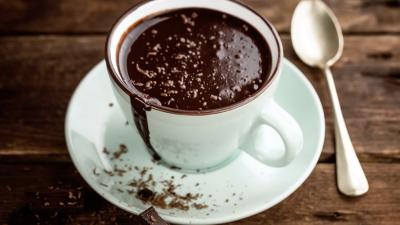 CIOCCOLATA CALDA LOW CARB PROTEICA, DENSA E CREMOSA senza lattosio e senza glutine